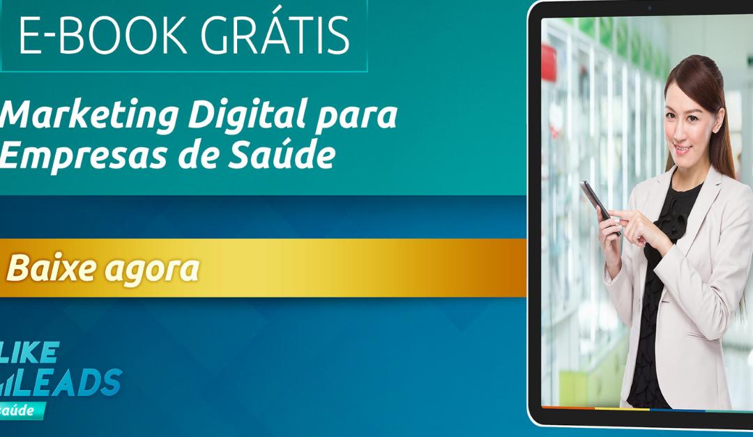 E-book Marketing Digital para Empresas da Saúde