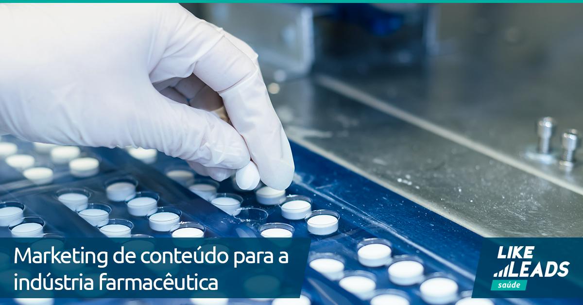 Marketing de conteúdo para a indústria farmacêutica